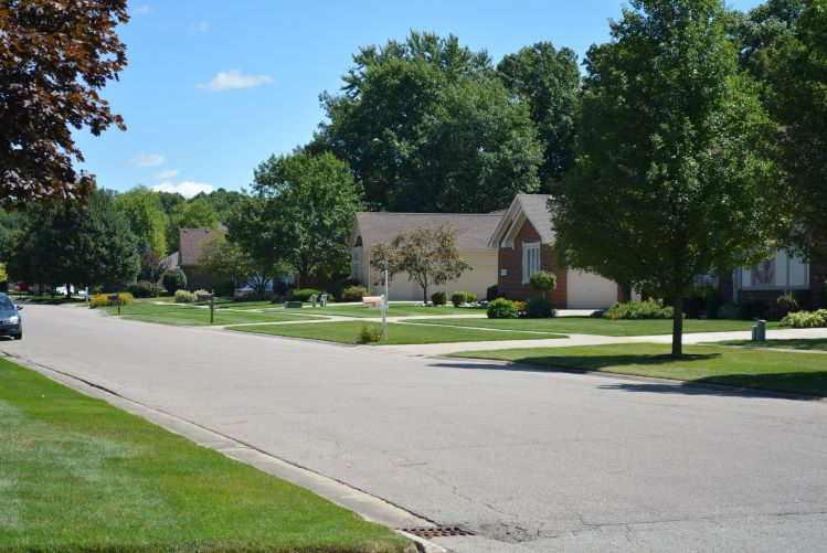 Copperfield Subdivision in Shelby Township