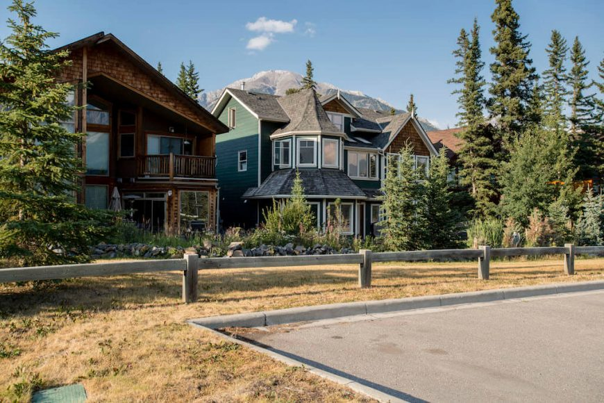 South Canmore homes