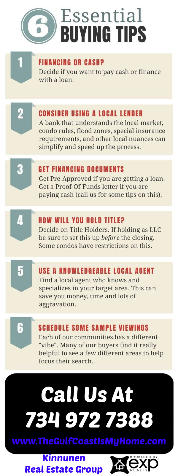 6 Steps to Buying a Home In Florida