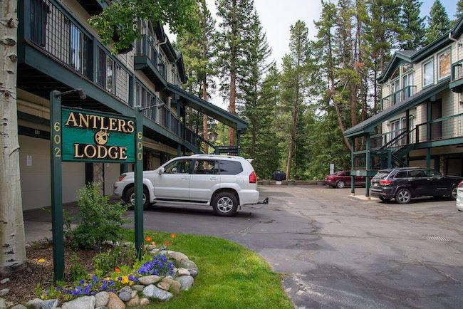 Antlers Lodge Condos Exterior in Breckenridge, Colorado