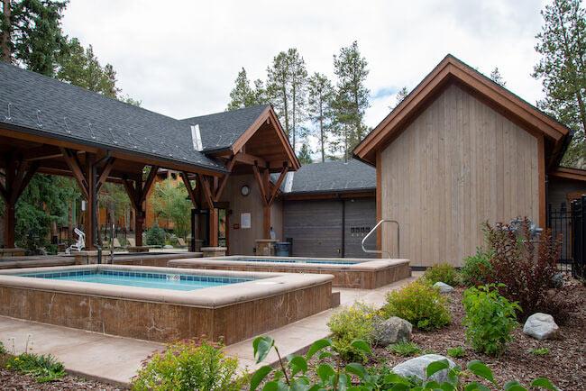Columbine, Breckenridge, Hot Tub
