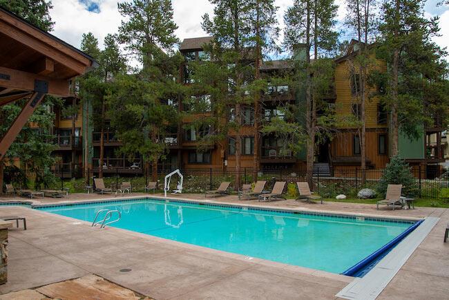 Columbine, Breckenridge, Pool