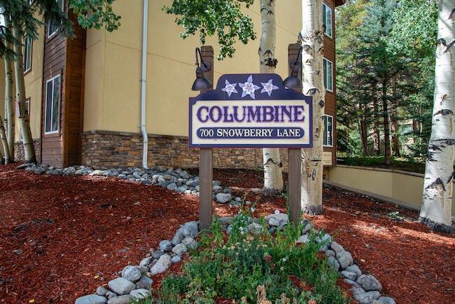 Columbine, Breckenridge, Sign