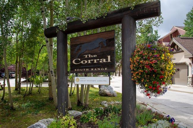 Corral At Breckenridge, Breckenridge, Sign
