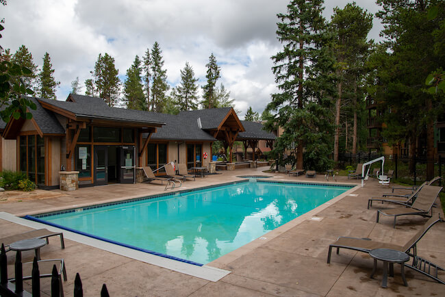 Lances West, Breckenridge, Pool