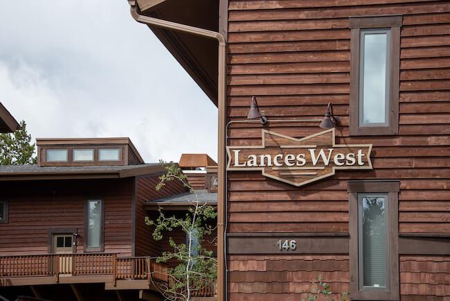 Lances West Condos, Breckenridge, Sign