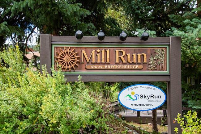 Mill Run, Breckenridge, Sign