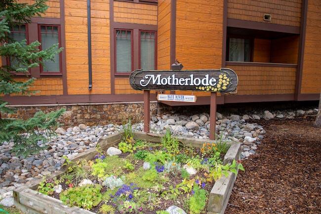 Mother Lode Condos, Breckenridge, Sign