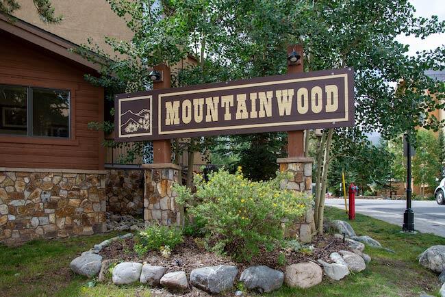 Mountainwood Condos, Breckenridge, Sign