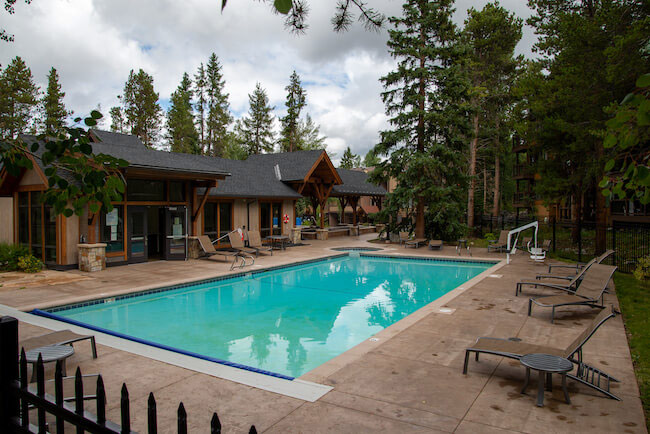Pine Creek, Breckenridge, Pool