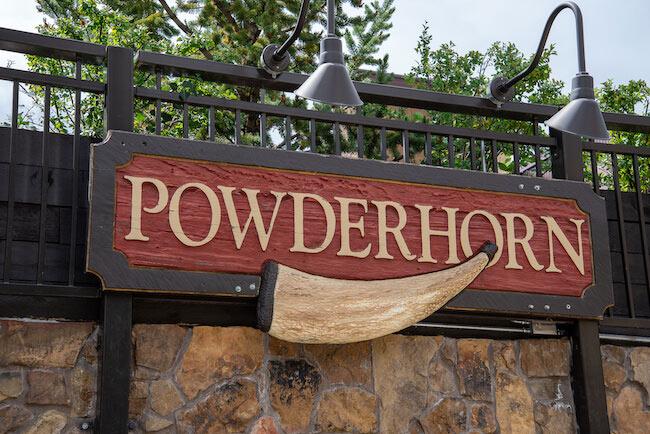 Powderhorn Condos, Breckenridge, Sign