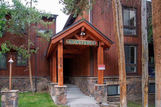 Snowspruce Condos, Breckenridge, Sign
