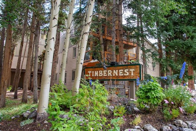Timbernest Condos, Breckenridge, Sign
