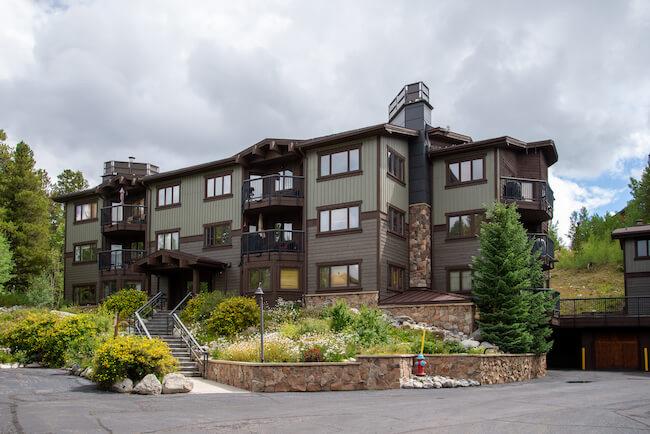 Woods Manor Condos, Breckenridge, Exterior