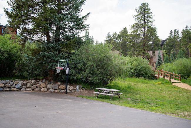 Double Eagle Condos Basketball Court in Breckenridge, Colorado