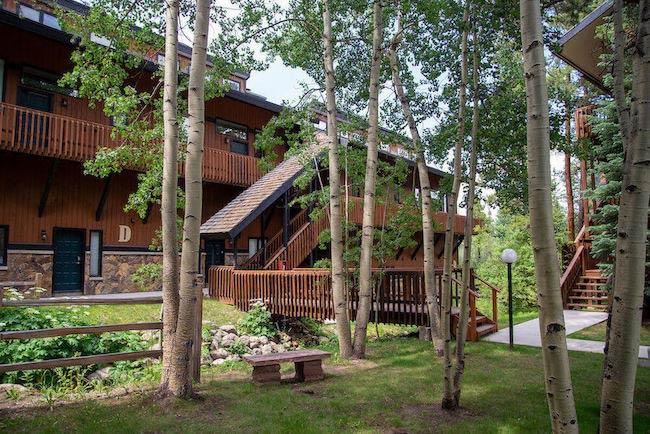 Four O'Clock Lodge Condos Common Area in Breckenridge, Colorado