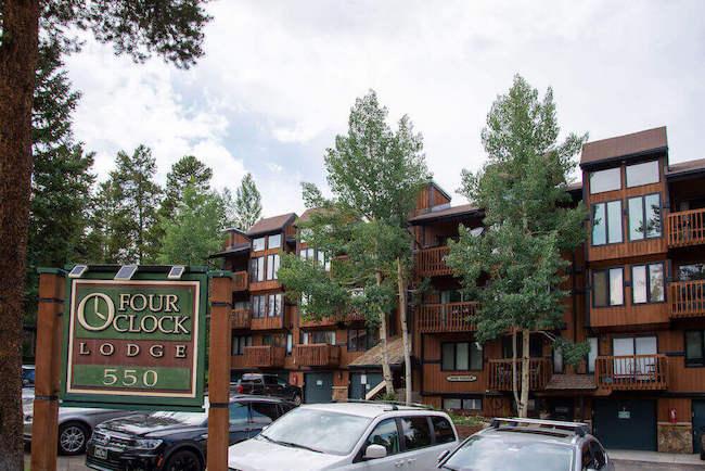 Four O'Clock Lodge Condos Exterior in Breckenridge, Colorado