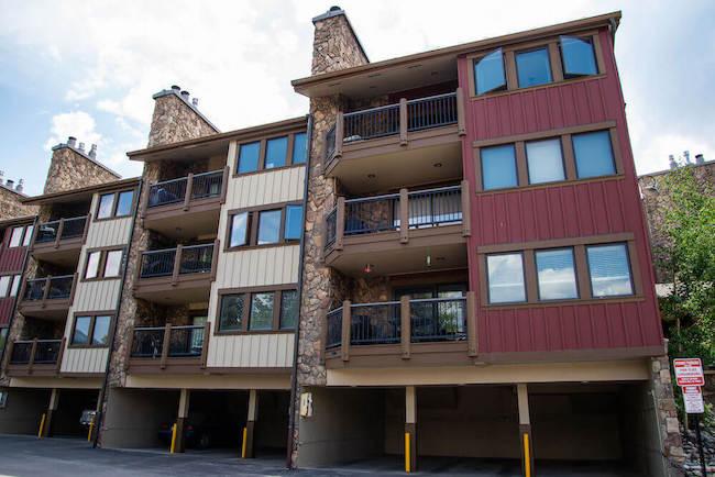 Park Place Condos Exterior in Breckenridge, Colorado