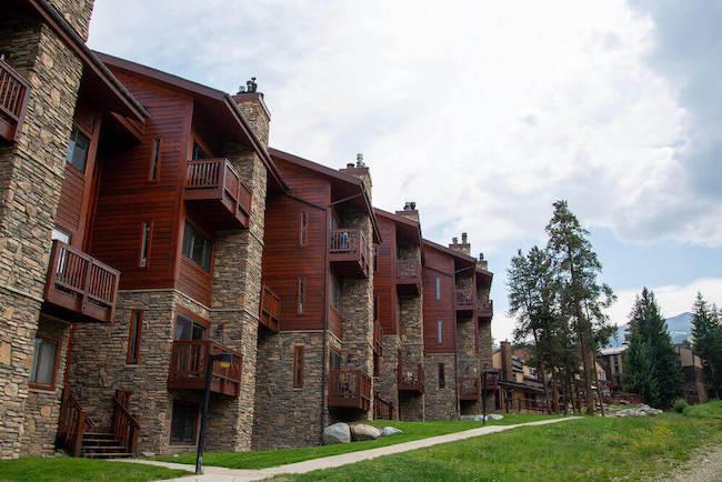 Pine Ridge Condos Exterior in Breckenridge, Colorado