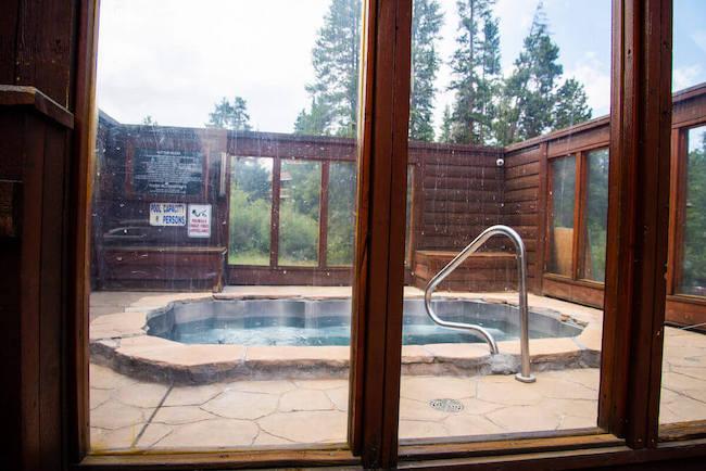 Pine Ridge Condos Hot Tub in Breckenridge, Colorado