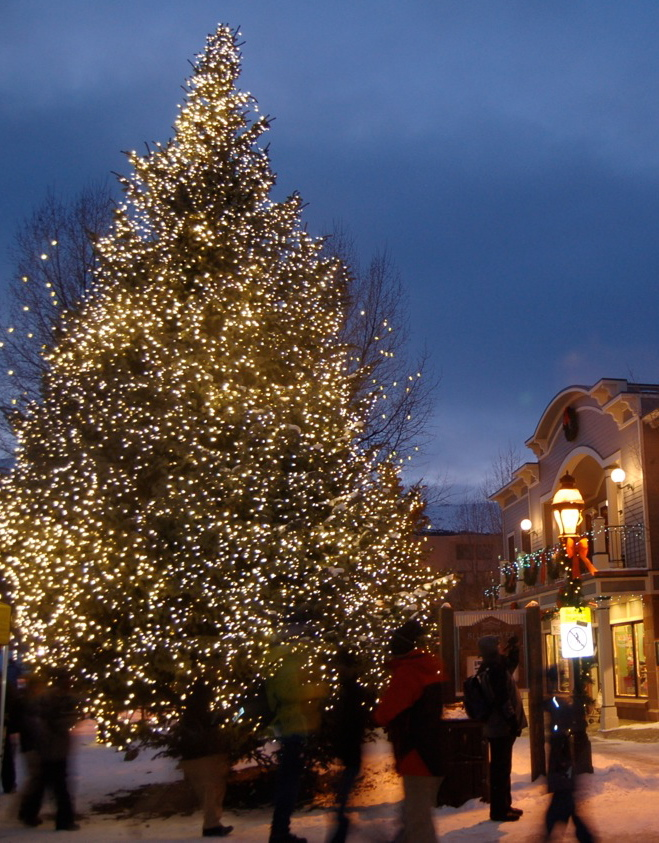 Breckenridge Tree Lighting