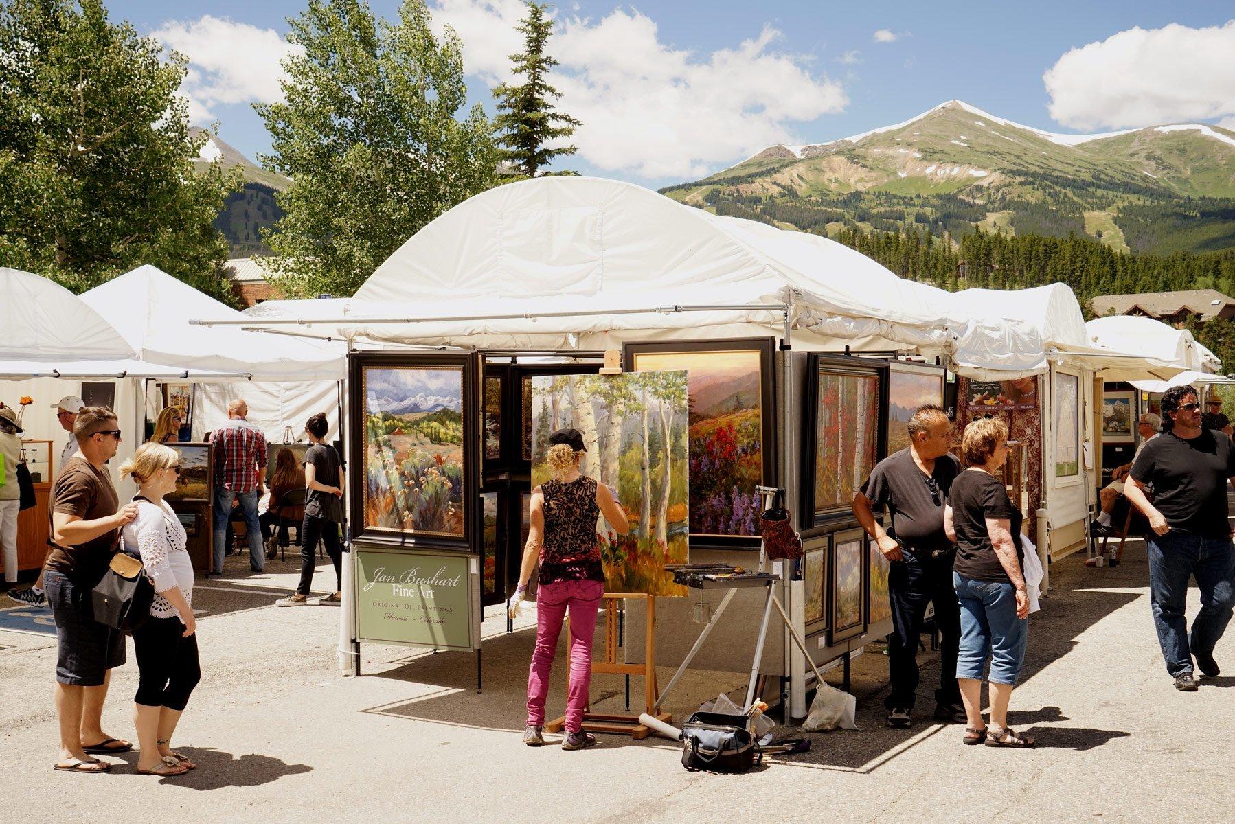 Mountain Art Festival - Breckenridge