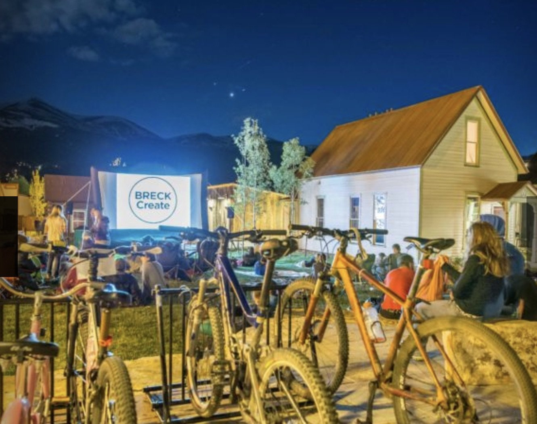 Bike-in Movie, Breckenridge