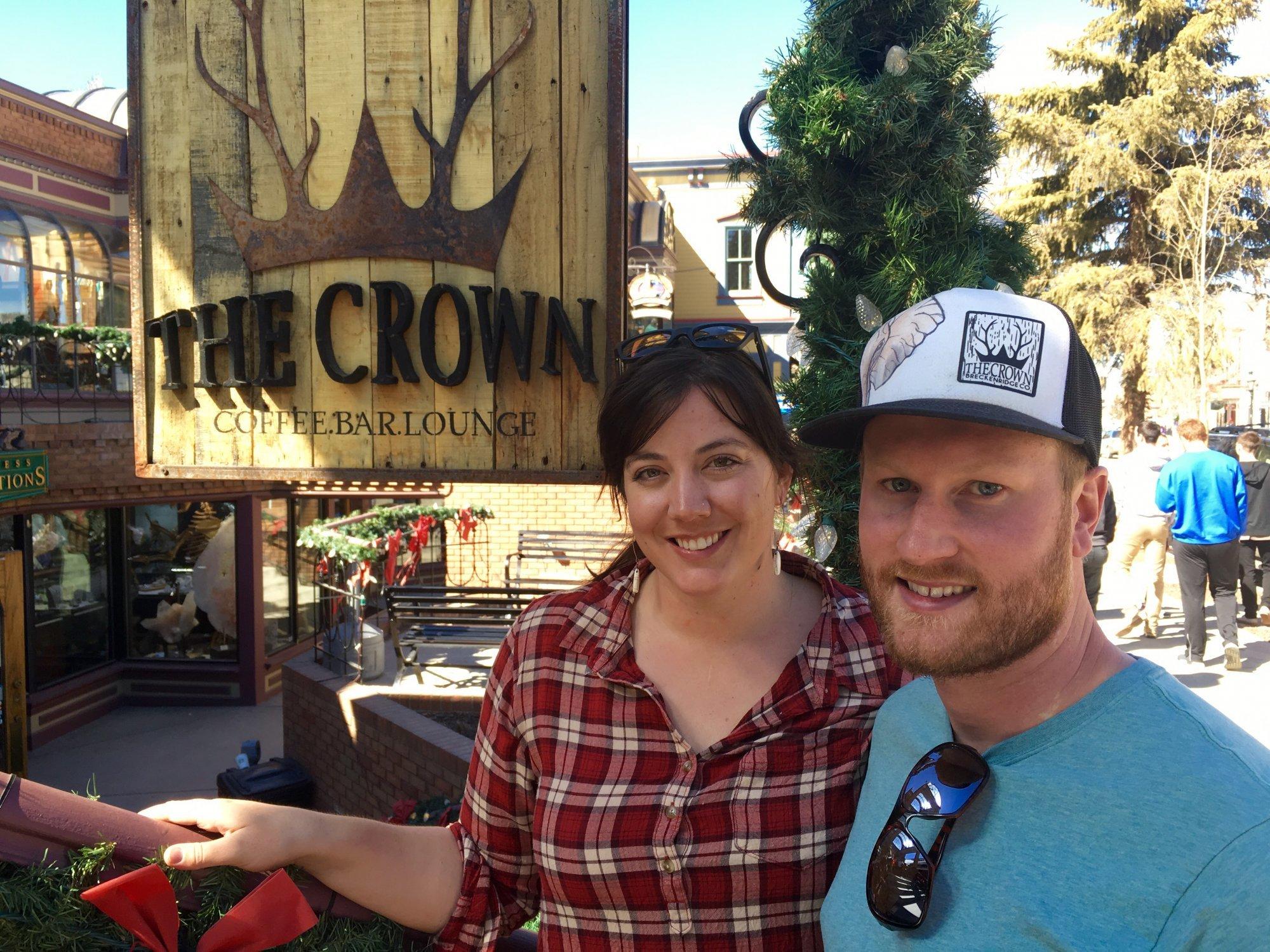 Brett and Sara The Crown
