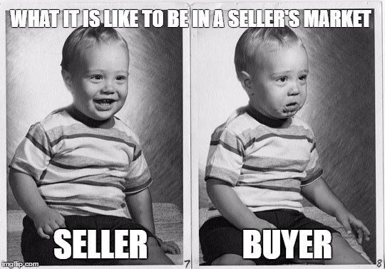 How to find a house in a seller's market
