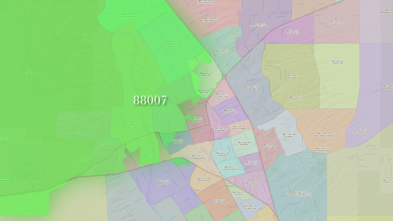 Homes for sale in the 88007 zip code
