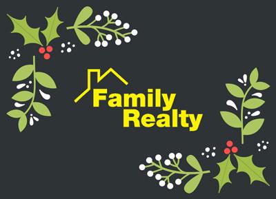 Happy Holidays - Family Realty