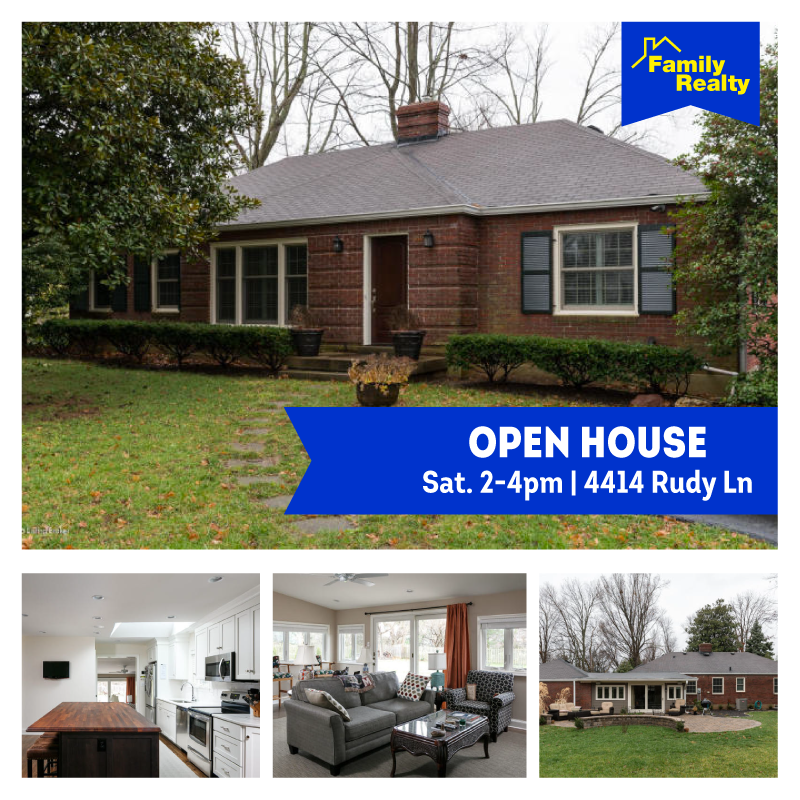 4414 Rudy Lane Open House