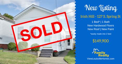 127 s spring st - irish hill - Shotgun Home Sold