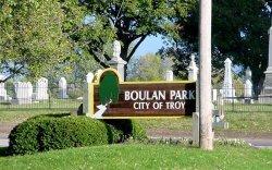 Entrance to Boulan Park