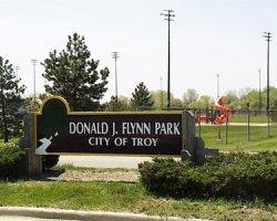 Entrance to Donald Flynn Park