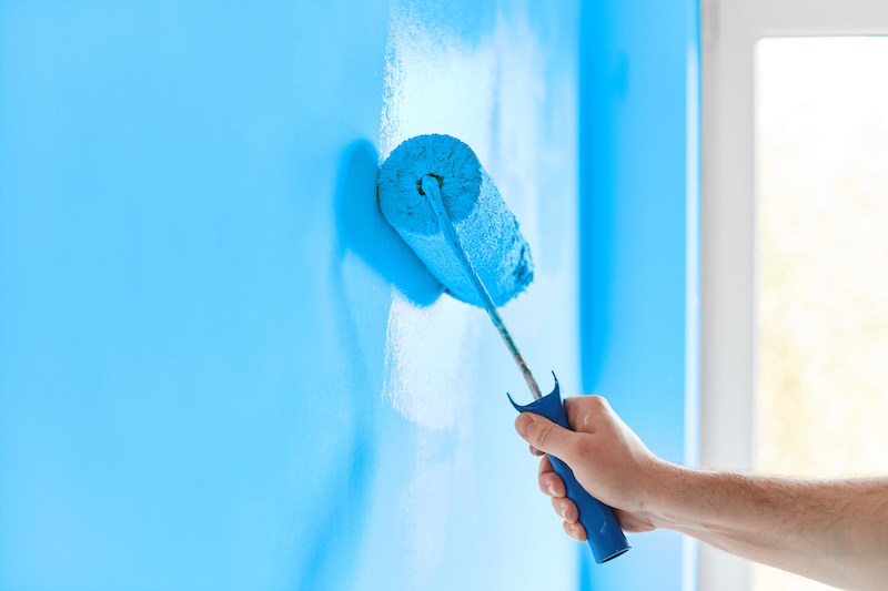 Add Fresh Paint to Rooms