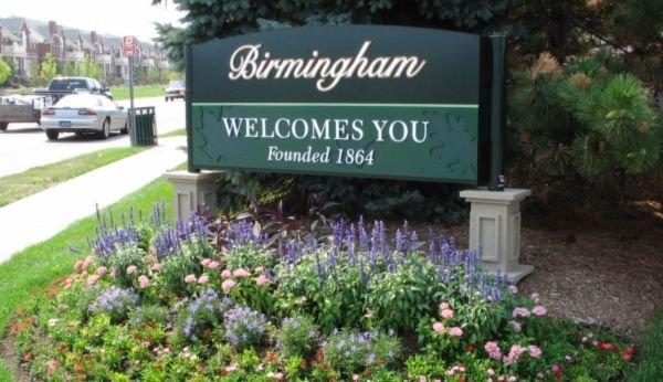 Birmingham Welcome Sign