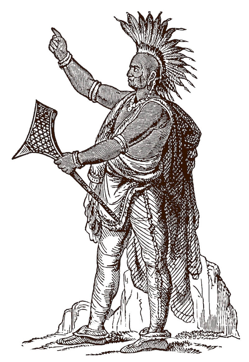 The Ottowa, Potawami, and Ojibwe Tribes First Lived in Detroit