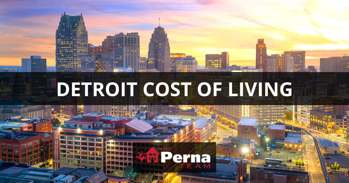 Detroit Cost of Living Guide