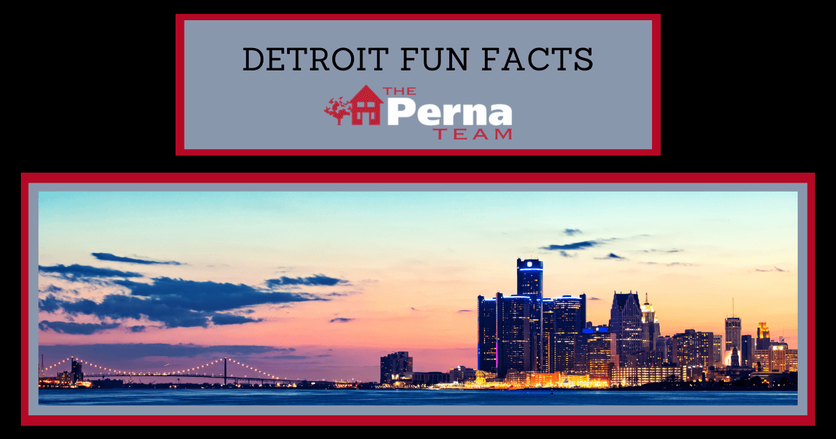 Detroit Fun Facts