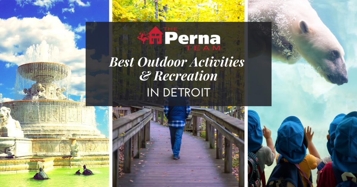 Best Outdoor Activities in Detroit