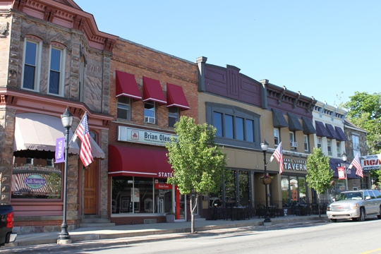 Troy Michigan Storefronts