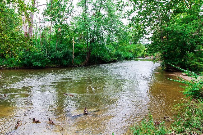 River Walk Yates Cider Mill