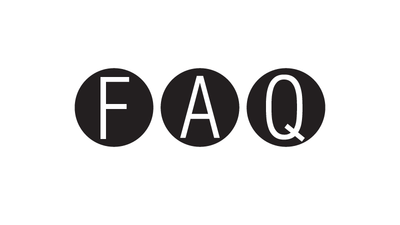 The word F A Q