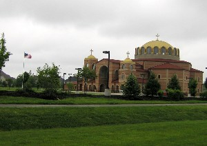 Greek Orthodox Church in Carmel Indiana