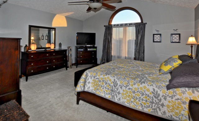 Master Bedroom at 7654 Gunsmith Court