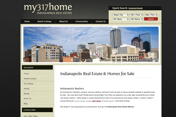 My 317 home website
