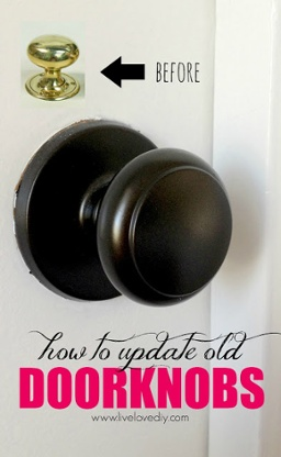how to update old doorknobs