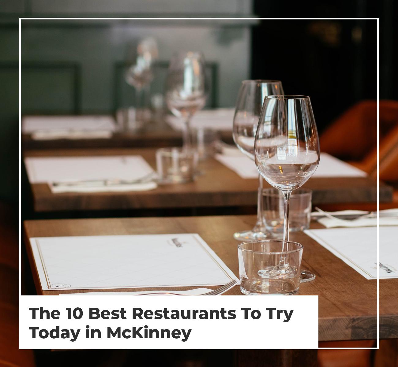 McKinney Restaurants
