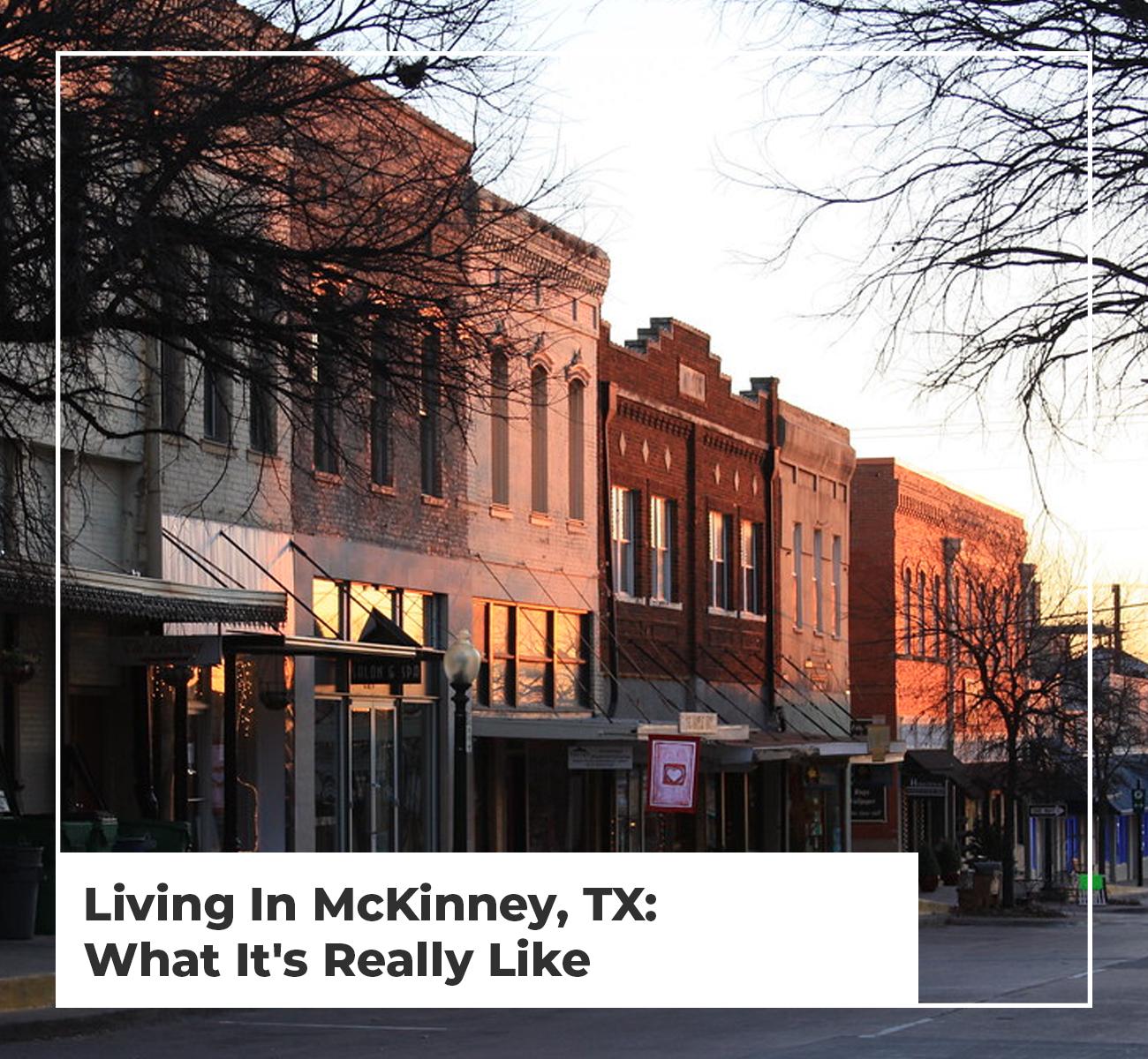 Living in Mckinney TX